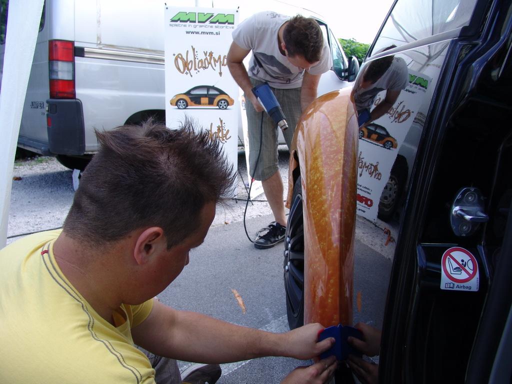 Carwrapping detajli