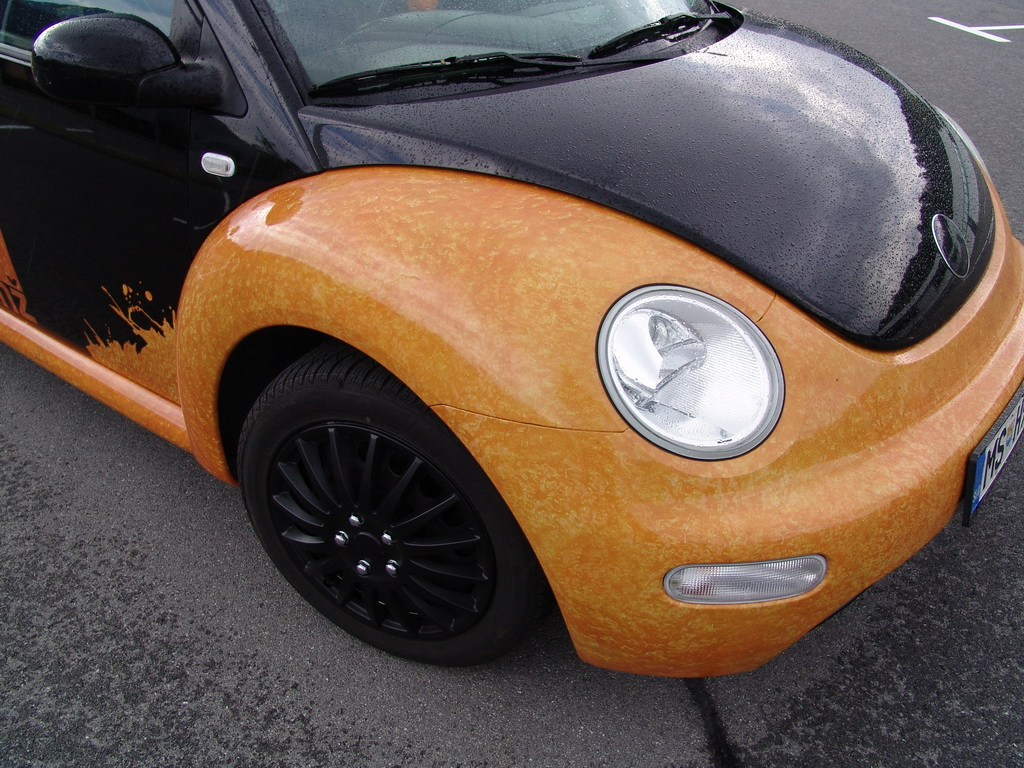 Carwrapping - VW Hrošč - detajl