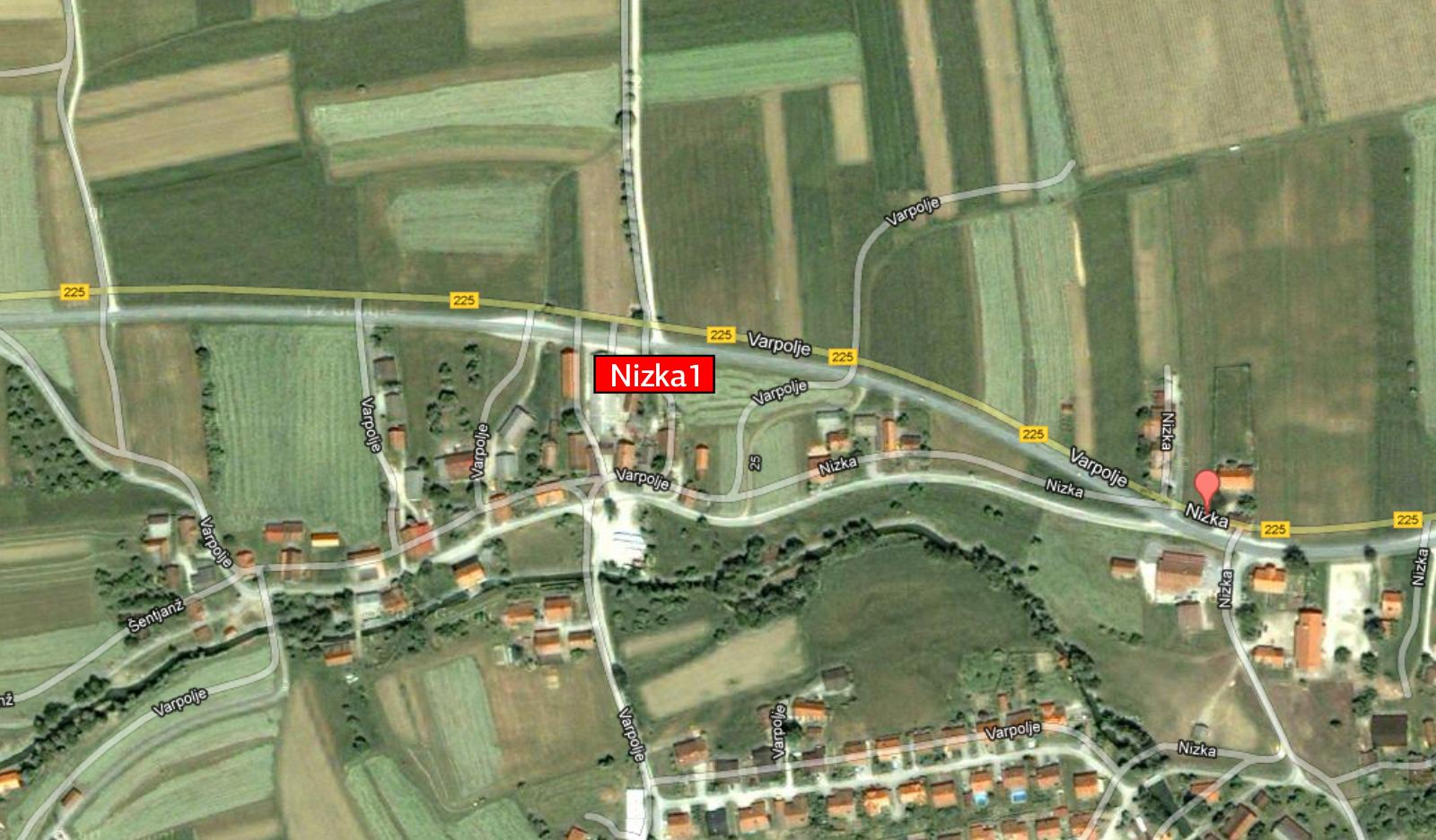 Oglaševanje na jumbo plakatih smer Celje - Logarska -Nizka1-lokacija - Zgornja Savinjska Dolina