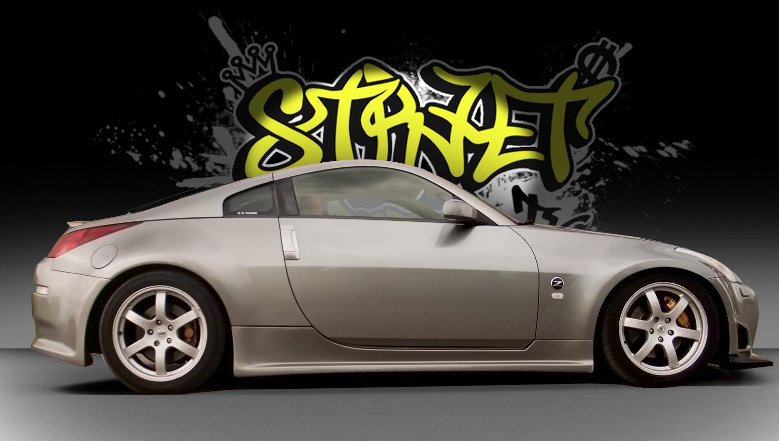 Nissan 350Z pred oblačenjem v folijo