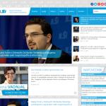 Izdelava spletne strani Nove Slovenije 2015