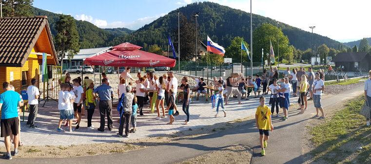 Sprejem olimpijke Maje Mihalinec 24. 8. 2016 v Mozirju