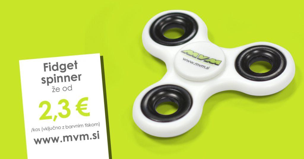 Fidget spinner vrtavka poslovno darilo promocijsko darilo